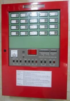 Trung tâm báo cháy từ 05 zone đến 100 zone, Model: AHC-871